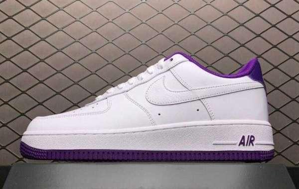 CJ1380-100 Nike AF1 Air Force 1 Low Voltage Purple White To Buy