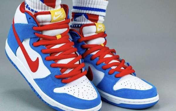 "Where to buy CI2692-400 Nike SB Dunk High ""Doraemon"" Shoes 2020"