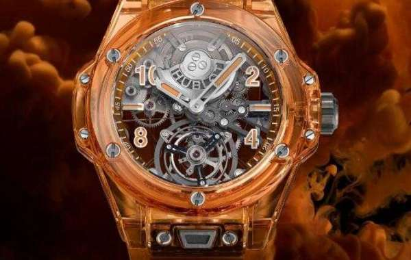 Hublot Big Bang Tourbillon Automatic Orange Sapphire 419.JO.0120.RT Replica Watch