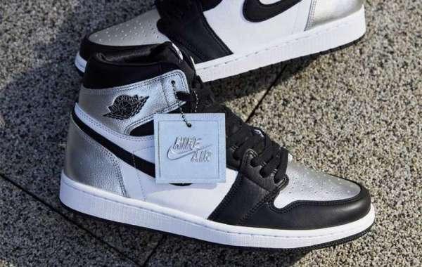"CD0461-001 Air Jordan 1 High OG WMNS ""Silver Toe"" will be released on February 12"