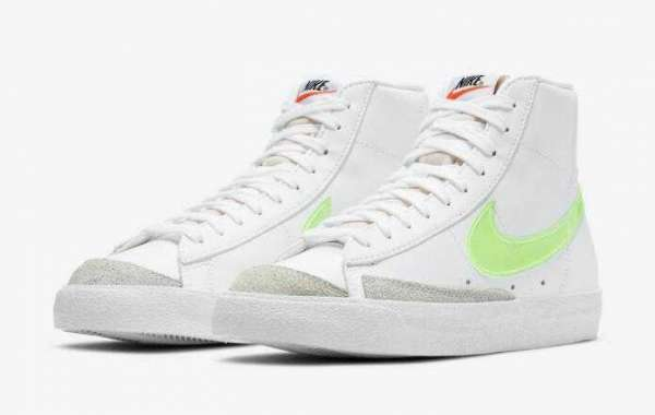 Latest Release Nike Blazer Mid White Neon Green is Available Now