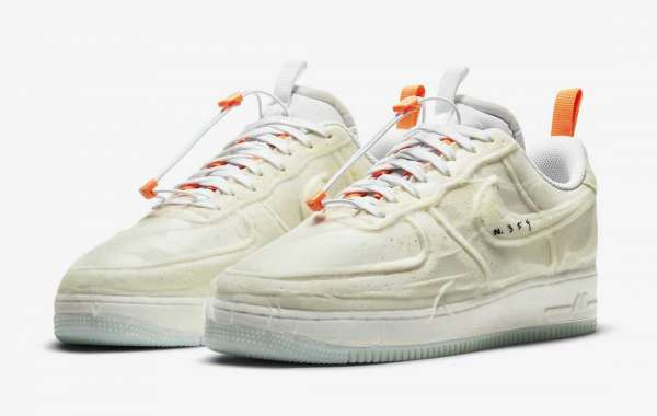 "Latest 2021 Nike Air Force 1 Experimental ""Sail"" Release Date"