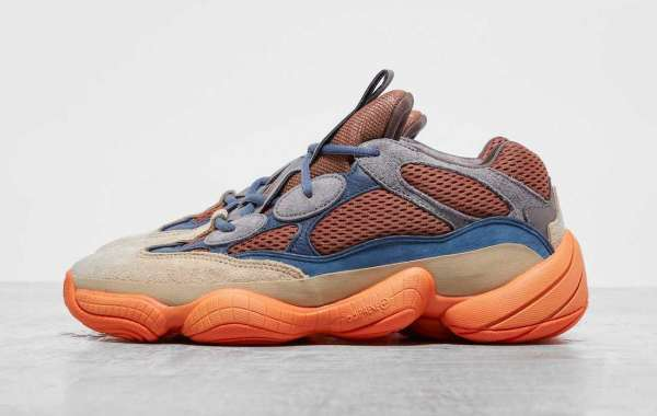 """Latest 2021 adidas Yeezy 500 """"Enflame"""" Running Shoes Coming Soon"""