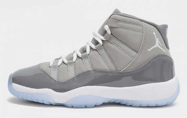"Air Jordan 11 ""Cool Grey"" CT8012-005 will be released on December 11"