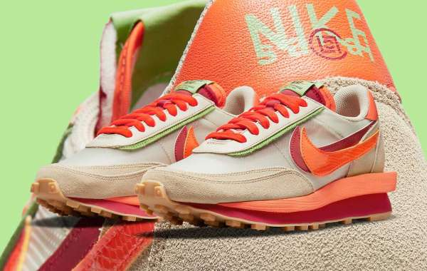 DH1347-100 sacai x Clot x Nike LDWaffle will be released on September 9