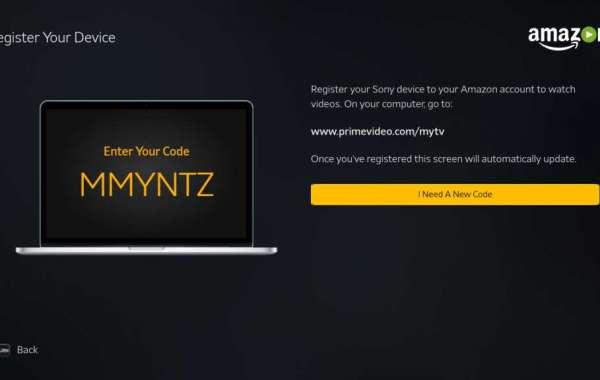 www.amazon.com/mytv - Enter Code - Primevideo.com/mytv